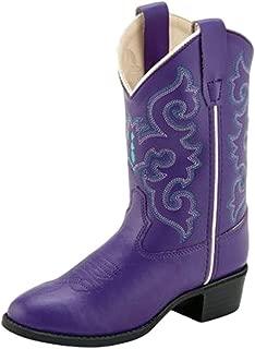 girls purple cowboy boots