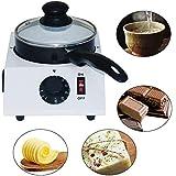 チョコレートメルター、電気チョコレートフォンデュメルターチョコレートメルティングマシンセラミックノンスティックポットキッチンツール