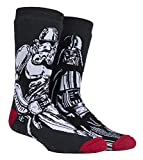 HEAT HOLDERS - Herren Thermo Winter Star Wars Socken mit Antirutsch ABS Sohle (39/45, Darth Vader/Storm Trooper)