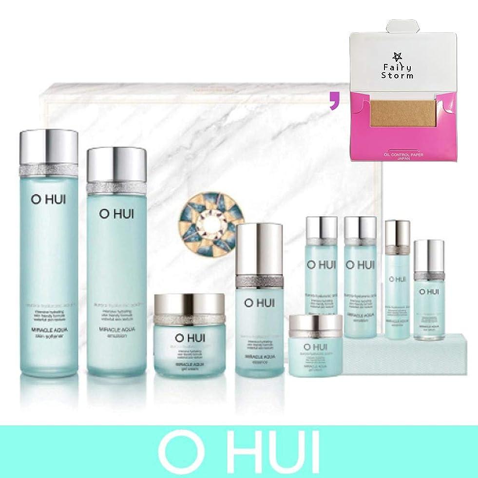 前方へ繊維カウント[オフィ/O HUI]韓国化粧品 LG生活健康/O HUI MIRACLE AQUA SPECIAL 4EA SET/ミラクル アクア 4種セット + [Sample Gift](海外直送品)