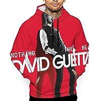 David Guetta (7) メンズ スウェット パーカー 長袖 フード付き 秋服 ゆったり スウェット 人気 服 プルオーバー フーディ 秋 冬 春