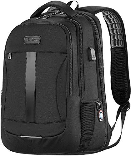 15.6-17inch Laptop Backpack TSA Large Bag School Bookbags...