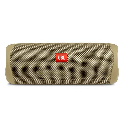 JBL FLIP 5, Waterproof Portable Bluetooth Speaker, Sand (New Model)