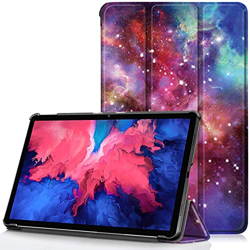 TTVie Case for Lenovo Tab P11 - Ultra Slim Lightweight Smart Shell Stand Cover with Auto Wake/Sleep Function for Lenovo Tab P11 11 Inch Tablet 2020 Release, Milky Way