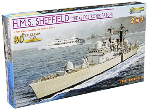 30th Anniversary (batch I) Falklands War type 42 destroyer Sheffield 1/700 Royal Navy (japan import)