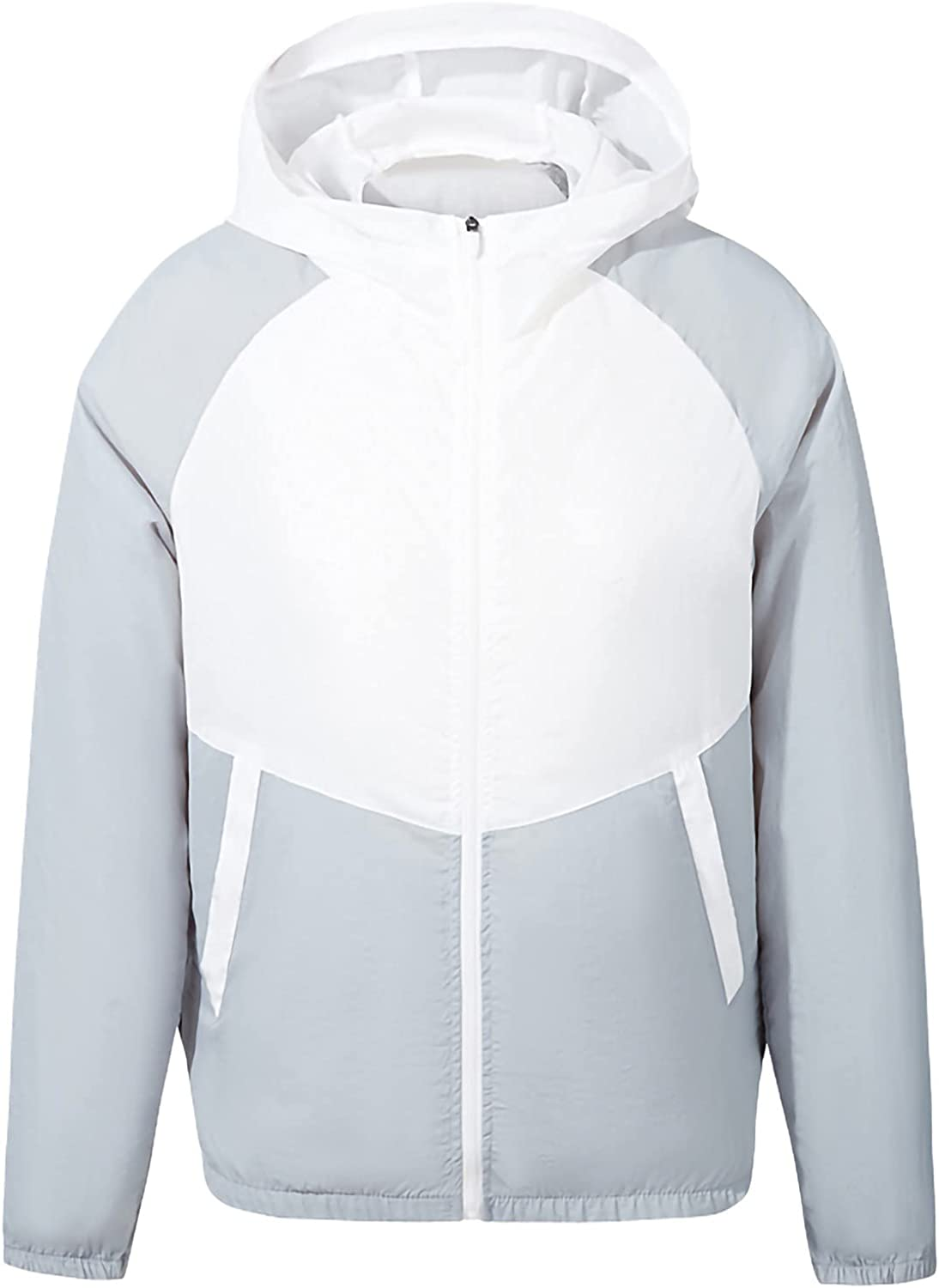 GOODTRADE8 Cardigan Sweaters Women and Men's Cooling Fan Clothing and Air Conditioned Coat Outdoor Work