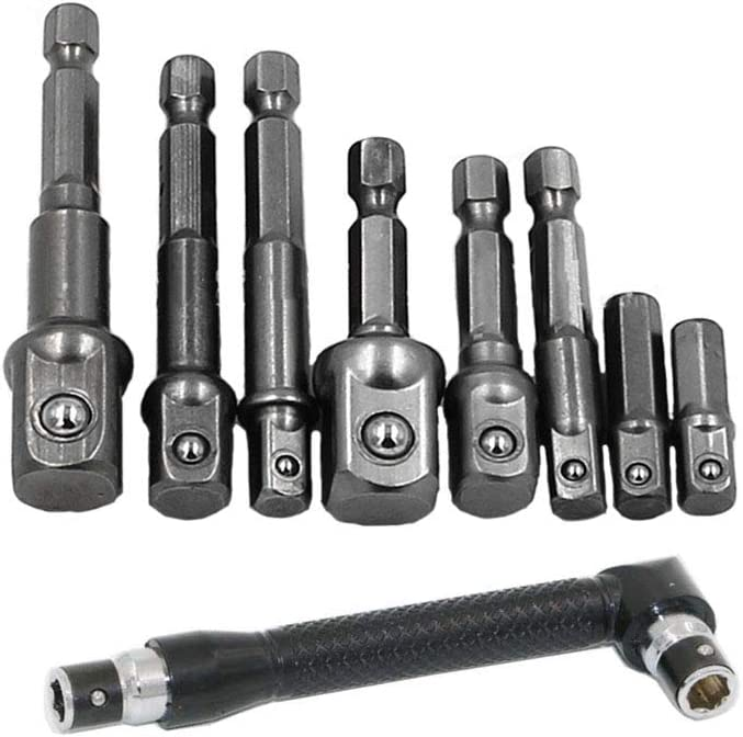 Femcery Drill Bits Extension Power Hand Tool Special price for a limited time 2