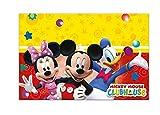 Folat B.V.-81511 Mantel plástico 120 x 180 cm, Mickey Mouse, multicolor, unico (Perona 50866)