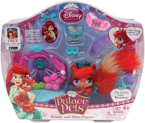 Disney Princess Palace Pets Beauty and Bliss Playset Ariel Treasure Doll by Disney Princess
