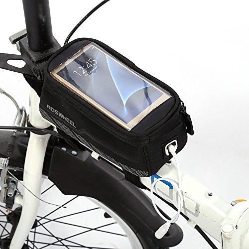 Fietstas fiets stuurtas frametas zadeltas handige draagbare tas tijdens het fietsen