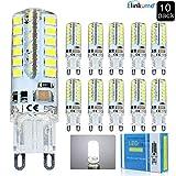 10X G9 Ampoule LED 3.5W Ampoule Lampe 48 SMD 2835LED Blanc Froid 350LM Super Lumineux...