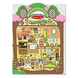 Melissa & Doug Puffy Sticker Play Set: Chipmunk House