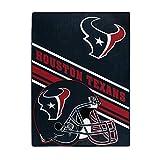 The Northwest Company NFL Houston Texans Slant Silk Touch Throw Blanket, 60' x 80'