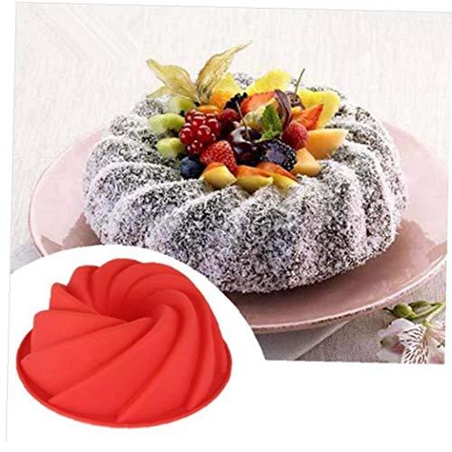 3D Big Swirl Forme de Beurre Silicone gâteau Moule Cuisine Formulaire de Cuisson Outils Cake Boulangerie Moule à pâtisserie Moule Bakeware Moule à gâteau