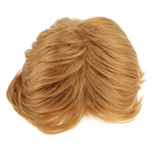 MagiDeal Perruque Cheveux Homme Cosplay Accessoire Déguisement Décor Synthétique Costume Fantaisie