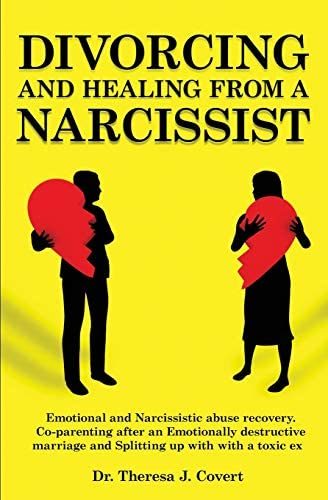 Divorcing and Healing from a Narcissist Emotional and Narcissistic Abuse Recovery Co parenting product image