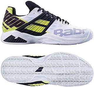 [バボラ] テニスシューズ メンズ プロパルス フューリー (クレーコート用) ホワイト×フルオアエロ 30S19425-1021 [並行輸入品]