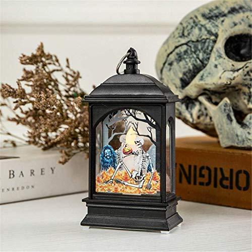 Cadeau créatif de Vacances Halloween Citrouille lumière Lampe Porte Chambre décoration LED Lanterne fête Accessoires de Maison Cadeau