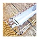 JXFS Protector Mesa PVC Rectangular Transparente,Cubierta Transparente Impermeable Protector Alta Temperatura Resistente Aceite,Ideal para Cocina,Soporte De Personalización(Color:1mm,Size: 40x50cm)