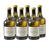Château-Chalon Vin jaune Blanc 2012 - Domaine Jean-Luc Mouillard - Vin AOC Blanc du Jura - Cépage Savagnin - Lot de 6x62cl - Médaille d'Or Concours départemental des vins du Jura