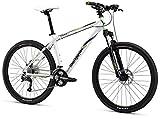 Mongoose TYAX Comp Men's Mountain Bike, White, 16'/Small