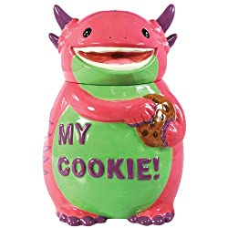 This pottery 9th anniversary gifts for him keeps his cookies safe.