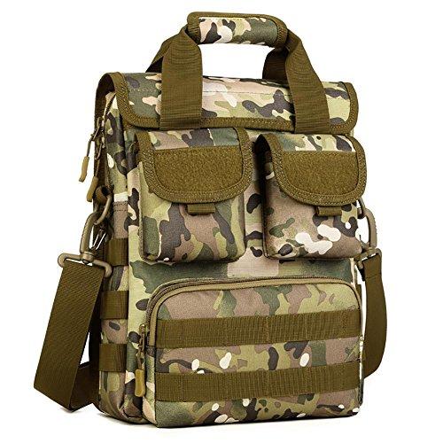 Outdoor Sacs Messenger Bag Men'S Trousse en nylon 26 * 34 * 8-12 cm , 6