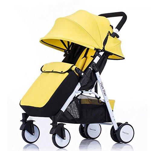 C-K-P Silla de paseo, reclinable de acero de alto carbono
