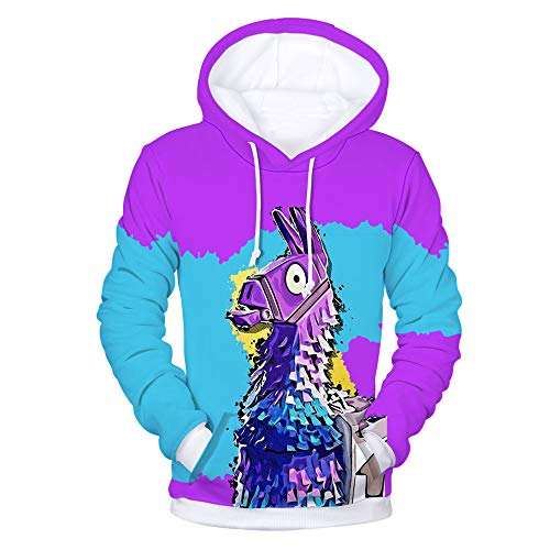 JALYCOS Unisex 3D Printed Hoodies,Pullover Sweatshirts with Pockets