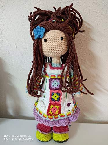muñeca nesy fabricante Crochet & Punto