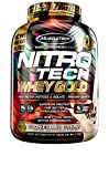 Whey Protein Powder | MuscleTech Nitro-Tech Whey Gold Protein Powder | Whey Protein Isolate Smoothie Mix | Protein Powder for Women & Men | Cookies and Cream Protein Powder, 5.5 lbs (76 Servings)