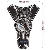 SUSHANCANGLONG Emblema de la Motocicleta Pegatinas de Cares de carnales Símbolo...