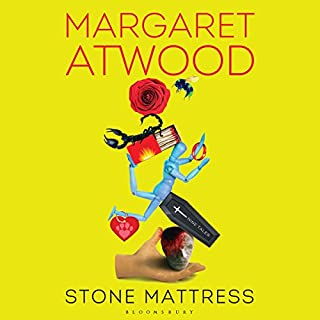 Stone Mattress     Nine Tales              By:                                                                                                                                 Margaret Atwood                               Narrated by:                                                                                                                                 Emily Rankin,                                                                                        Lorna Raver,                                                                                        Margaret Atwood,                   and others                 Length: 10 hrs and 2 mins     41 ratings     Overall 4.3