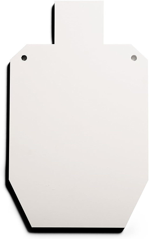RMP Silhouette Swing Target  151 8 X 91 4 White Powder Coat Finish