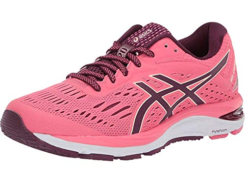 ASICS Women's Gel-Cumulus 20 Running Shoes, 9.5M, Pink Cameo/Roselle