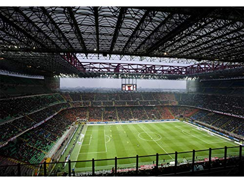 Oedim Papier Peint Auto-Adhésif | Raison Sportive Stade de Football | 500 x 300 cm | Décoration muraux de Chambre
