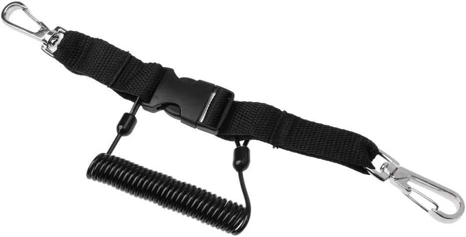 Animer and price revision MagiDeal Premium Stainless Steel Underwater Lanyard Dive Fashion Coil St