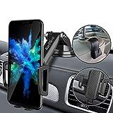 CarDition Soporte móvil Coche [4 en 1+Gancho para reposacabezas], versión Mejorada Titular teléfono Coche, Soporte movil Ventosa sujeta movil Coche es Adecuado para 4-7 Pulgadas Pantalla