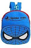 Swati Toy Kids Soft School Bag New Spider Man red Blue