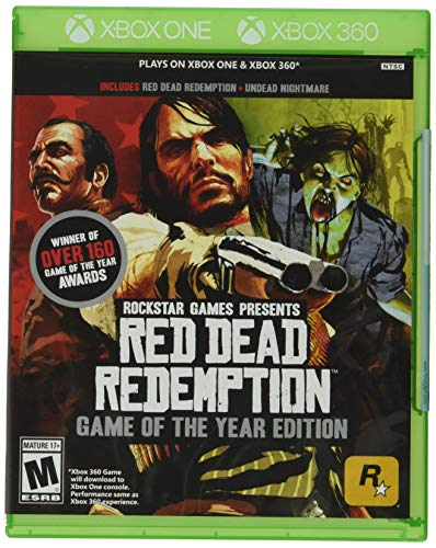 Red Dead Redemption - Game of The Year - Xbox 360