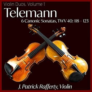 Telemann: 6 Canonic Sonatas, TWV 40: 118 - 123