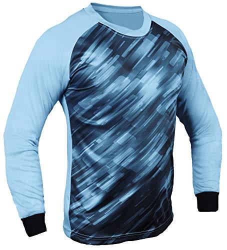 Total Soccer Factory Spectra Goalkeeper Jersey (Light Blue, YS (Chest 26-28'))