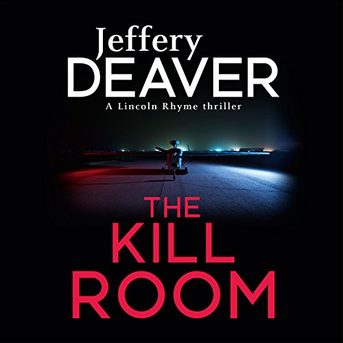 The Kill Room audiobook cover art