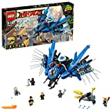 LEGO Ninjago - Le Jet supersonique de Foudre - 70614 - Jeu de Construction