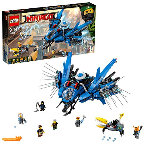 LEGO Ninjago Movie 70614 Lightning Jet Toy