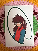 手書きイラスト 幽遊白書蔵馬② 製図用インク アニメカラー A4ケント紙