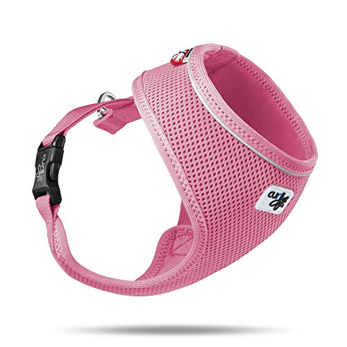 curli Geschirr Basic Air-Mesh, rosa, S
