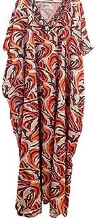 Orange Sahara Kaftan Dress
