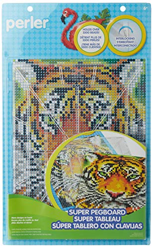 Perler Beads Extra Large Clear Pegboard