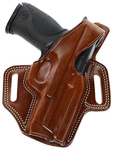Galco Fletch High Ride Belt Holster for Glock 19, 23, 32 (Tan, Right-Hand)